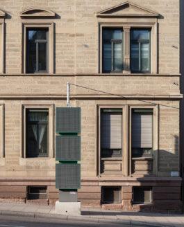 Feinstaub-Filtersäulen Stuttgart