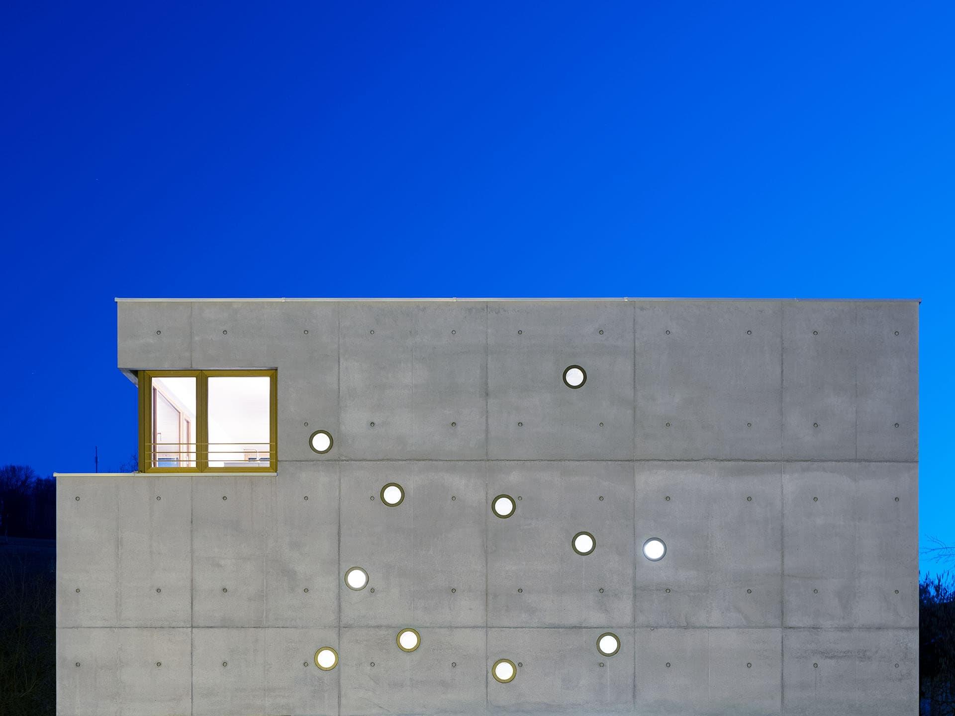 Architekturfotografie Betonbau in Tübingen