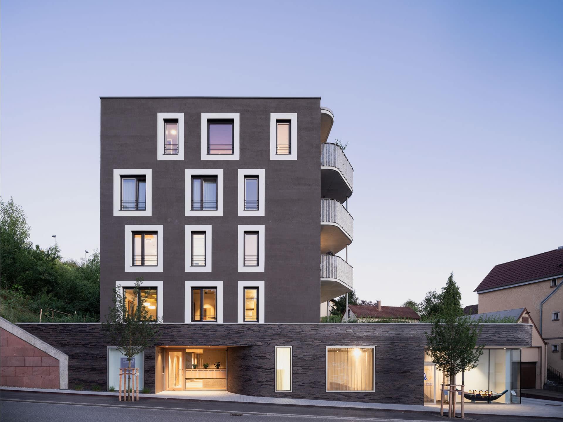 architekturfotograf-stuttgart: Architekturfotografie bei Bonasera Architekten, Nagold