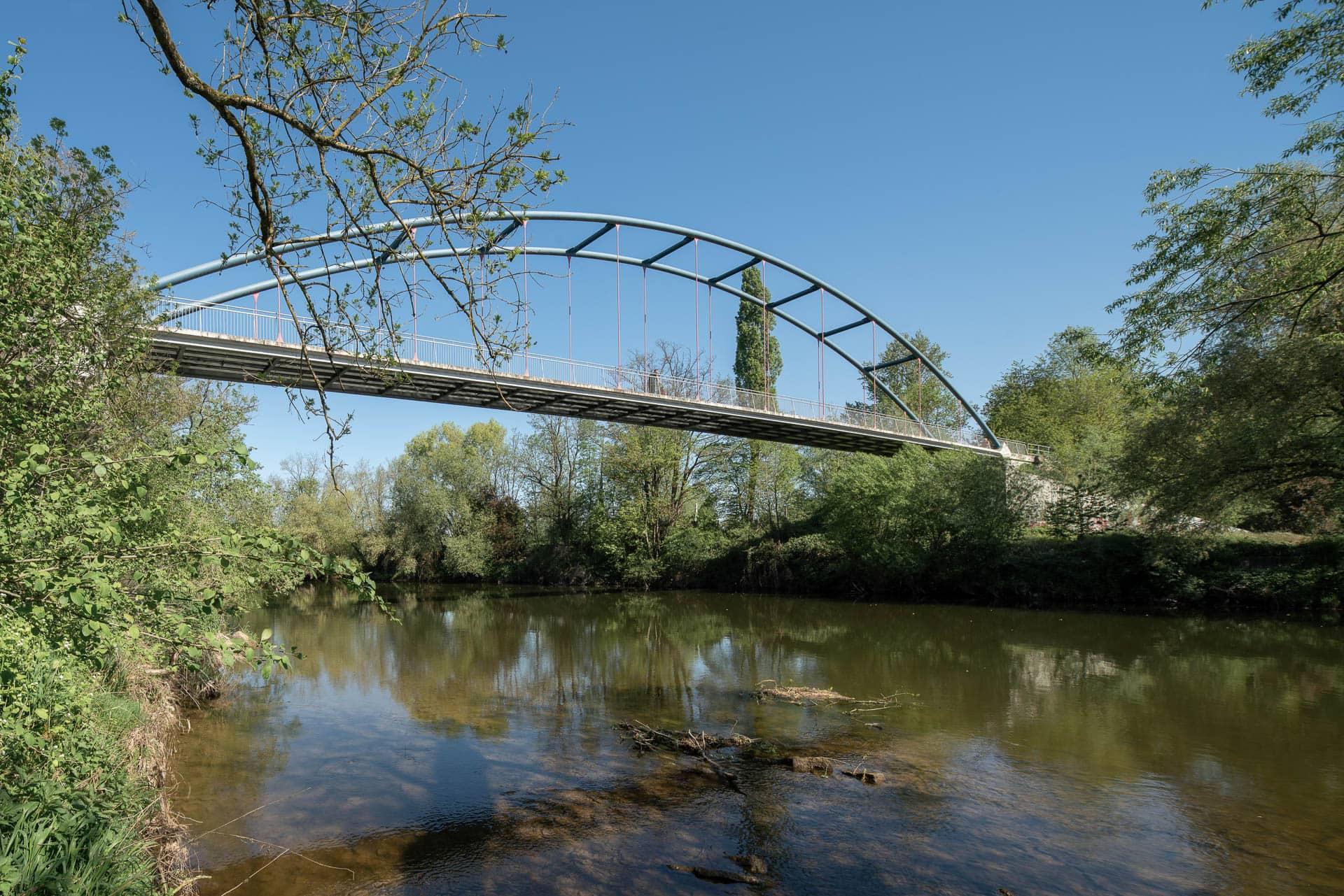 Kocher-Fahradbrücke