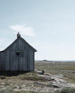 Nordische Hütten