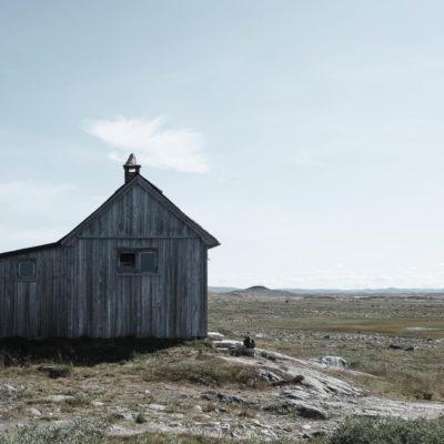 Norwegisches Fjell, Hütten
